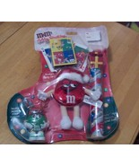 2001 M&M Christmas Stocking. Never Opened. Full... - $8.99