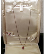 Stauer Necklace & Earrings  - $10.99