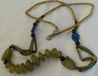 Unique gemstone necklace