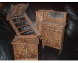 Buy Furniture - Fantastic Eastlake Antique Victorian Doll Furniture Suite