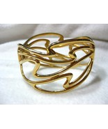 Beautiful  Abstract Design Clamper Bracelet - $12.00
