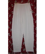 Express Tricot Thermal Pants White Size Extra S... - $7.00