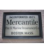 Vintage Mercantile Fire & Marine Insurance Comp... - $15.00