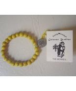 Year of the Monkey Wood Charm Bracelet Chinese ... - $5.00