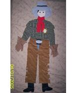 Quilted 3D Cowboy Sleeping Bag  - $26.00