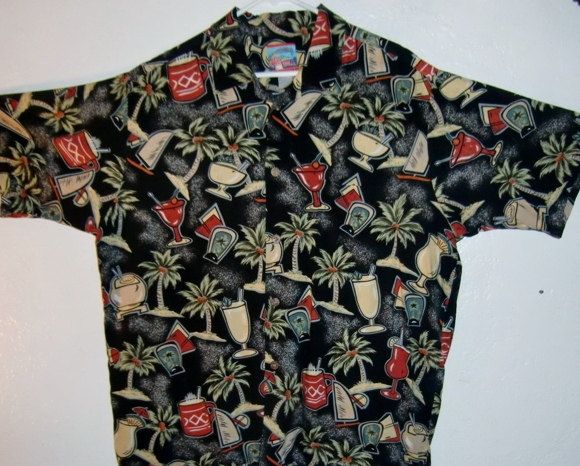 Men's Hawaiian Shirt Joe Kealuha's Reyn Spooner XL Aloha Shirt