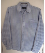 Lord & Taylor Boys Long Sleeve Dress Shirt Blue... - $11.00