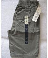 Cherokee Toddler Boys Green Cotton Cargo Shorts... - $5.00