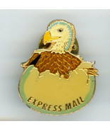 1988 USPS Express Mail Hatching Eagle Lapel Hat Tack Pin - $14.95