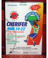 100 capsules CHERIFER PGM 10-22 ZINC Teenagers Filipino Vitamins 100 caps