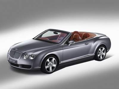 Bentley Continental GTC Poster Print