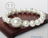Buy Matching Sets - Natural pearl bracelet 8 + 12 mm white match set auger hyaci
