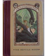 A Series of Unfortunate Events REPTILE ROOM Boo... - $2.99