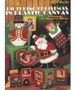 Leasure Arts #1530, Picturing Christmas in Plas... - $3.00