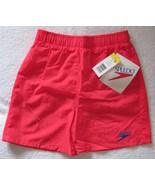 Speedo Boys Orange Nylon Swim Bathing Suit Trun... - $11.00