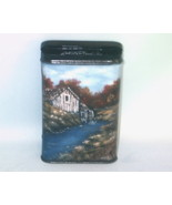 Hand Painted Fall Mill in Oils Vintage Prince A... - $34.00