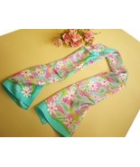 NEW Lilly Pulitzer breast cancer long silk scar... - $20.00