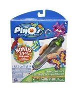 PixOs Bonus Starter Pen Pack 750 Beads 6 Templates 2 Trays - $8.97