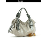 Buy Handbags - � European Collection Handbag  Tan/Grey