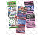 Buy Announcements - Printed ~ Gnomeo &amp; Juliet ticket Invitations-Party Supplies