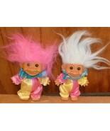 Russ Trolls TROLL Doll lot of 2 CLOWNS 5