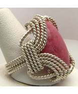 Red Sodalite Sterling Silver Ring - Any size - $130.00
