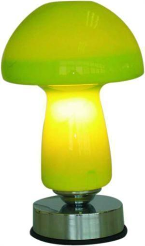 Green Electric Touch Lamp  Oil or Tart  Warmer