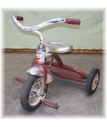 TRICYCLE Trike Vintage Red AMF Junior Garton Schwinn! - $14.00