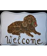 Boykin Spaniel Dog Custom Painted Welcome Sign ... - $31.95