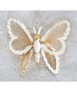 Elegant Monet Mid Century Modern White Enamel B... - $12.95