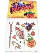 Jerome Russell Halloween Temporary Tattoos Witc... - $3.49