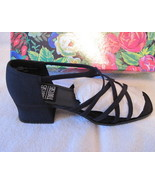 Mootsies Tootsies Strappy Heels Sandals Silky B... - $11.00