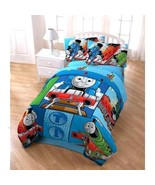 Thomas The Tank Engine 4-Piece Twin Bed Set Comforter - $84.35