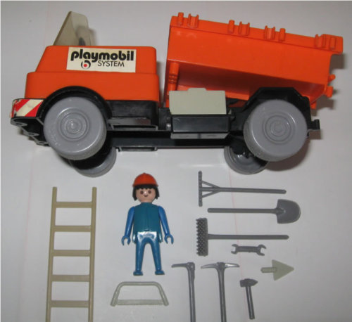 Playmobil Construction Truck 3203 Vintage 1975