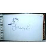 Celebrity Autograph Book 67 Autographs 1950s Si... - $999.00