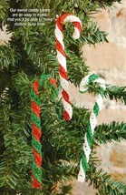 Candy Cane Scarf - Crafts - Free Craft Patterns - Craft Ideas For