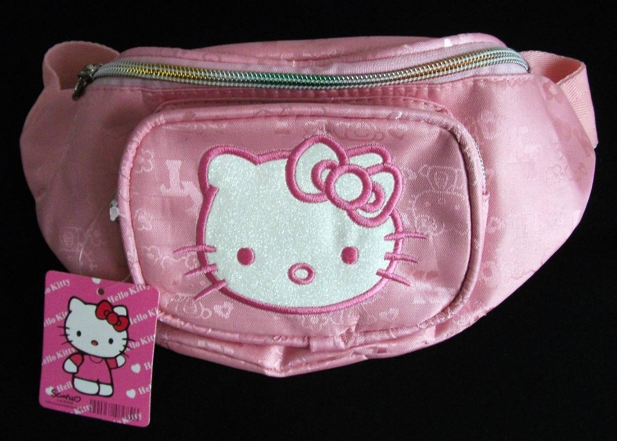 Beautiful Cute Hello Kitty Mini Messenger Bag Ladies 2015 Women Cartoon Nylon