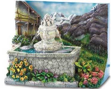 Alpine Courtyard Mini Fountain  (Table Top)