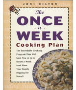 The Once A Week Cooking Plan Cookbook - Delicio... - $6.99