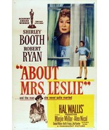 About Mrs. Leslie 1954 DVD Shirley Booth Robert... - $9.00