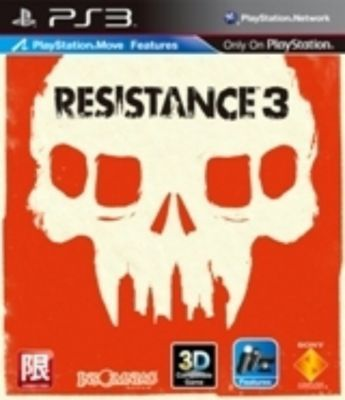 Resistance 3, PS3 game (AS)
