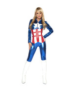 Roma Sexy American Hero CATSUIT Captain America... - $99.00