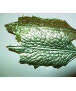 Vintage 50's Foil Paper christmas Holly Leaf Co... - $9.99