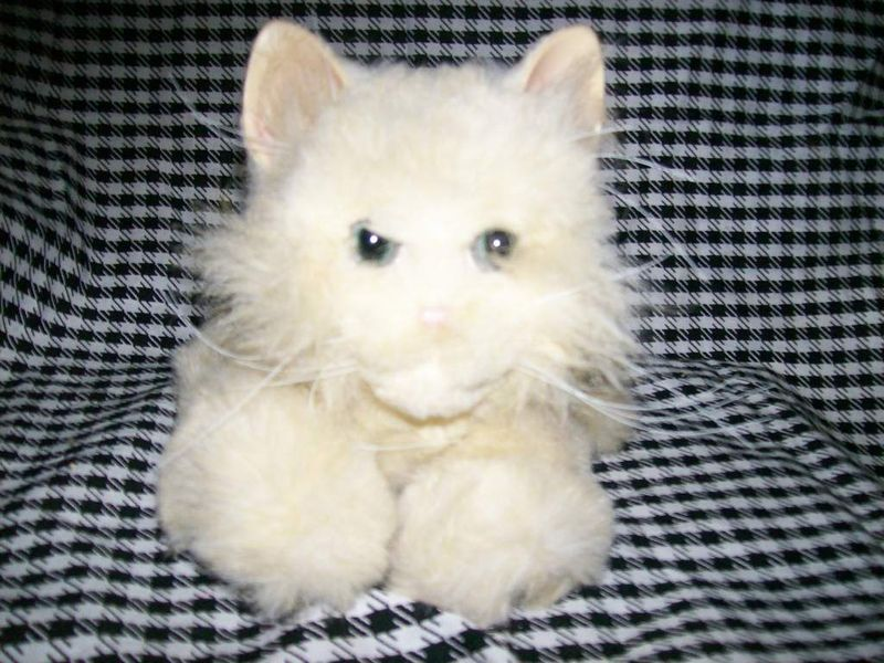 Furreal Friends Medium Interactive Plush Tan Kitten Cat