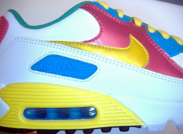 Nike Air Max 90 Y Pantone Trainer Uk Eur Dunk Sb Og
