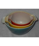 Anchor Hocking Fire King Ovenproof Three Mixing... - $29.95