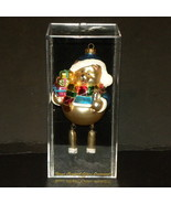 Christmas Ornament Hand Crafted Glass Bear Mult... - $20.00
