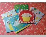 Buy Gift Cards - Vintage Retro Look Hankies Birthday Gift Cards Moda