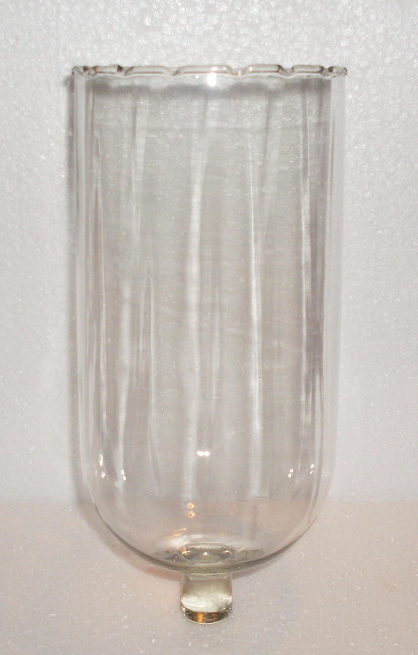 home interiors lamplight pegged votive candle holder clear