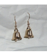 Fun jewelry - little golden bells earrings - $10.00